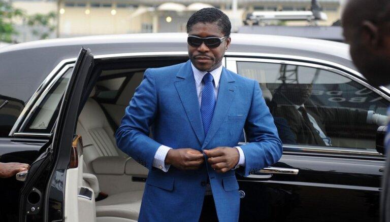 Brazīlija Ekvatoriālās Gvinejas prezidenta dēlam konfiscē 16 miljonus dolāru