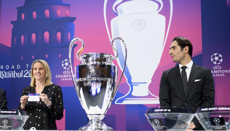 Состоялась жеребьевка плей-офф Лиги чемпионов и Лиги Европы по футболу