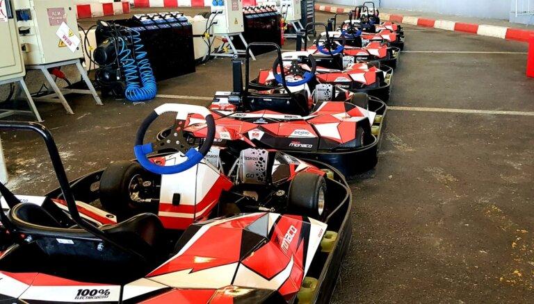 Pašmāju 'Blue Shock Race' piegādā kartingus uz Monako