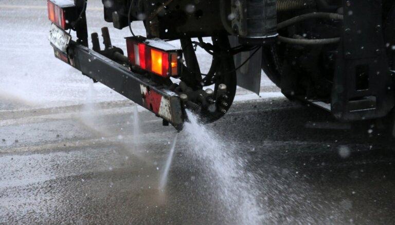 На Лиепайском шоссе возле Пиенавы произошла вторая за сутки авария