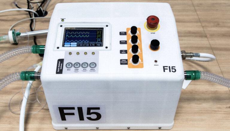'Ferrari' komandas inženieri palīdz izveidot lētāku plaušu ventilēšanas aparatūru
