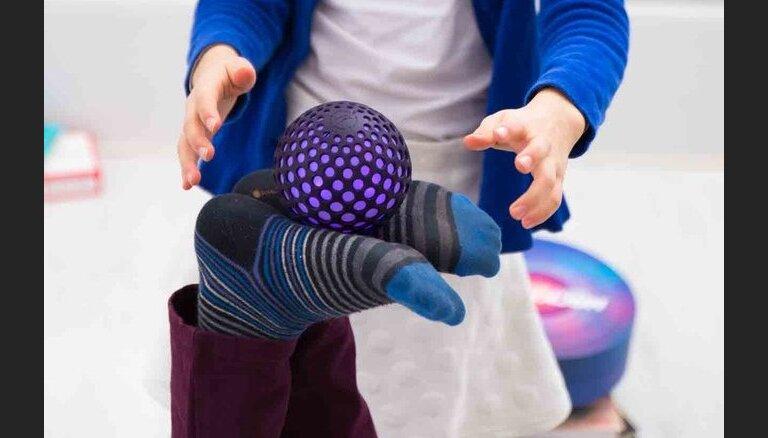 CES-2016: Смешной мячик Hackaball, который научит детей программированию
