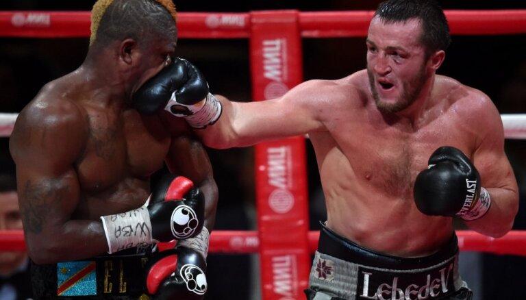 Лебедев подписал контракт на титульный бой с Рамиресом