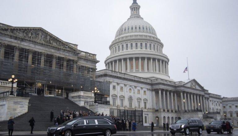 ASV Kongress pieņem kompromisa likumprojektu valdības finansēšanai