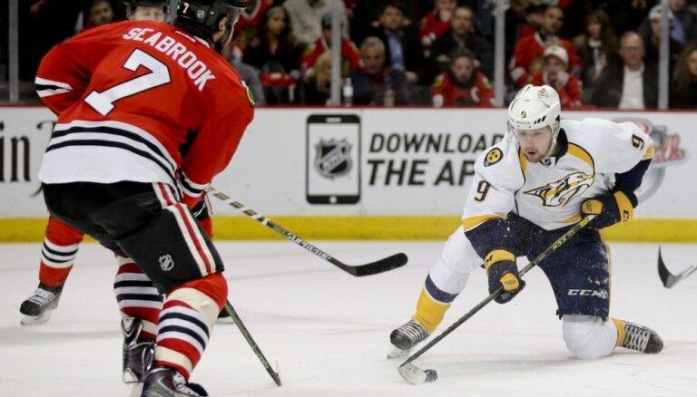 Zviedrijas hokeja izlasei pievienojas arī divi 'Predators' spēlētāji