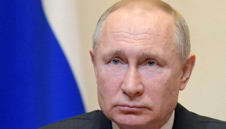 Путин заявил, что считает незаконными санкции США против Сирии