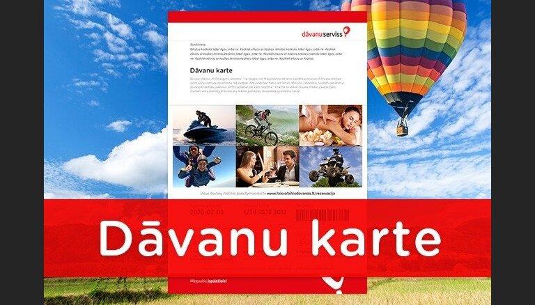 'Dāvanu serviss' par dāvināšanas kultūru Baltijā