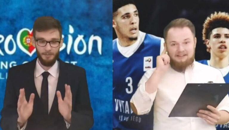 Interneta hits: Lietuvas nacionālās īpatnības punktu paziņošanā 'Eirovīzijā'