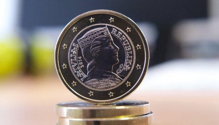 """Банк Латвии на этой неделе выпустит в обращение комплект монет """"5 лет в еврозоне"""""""