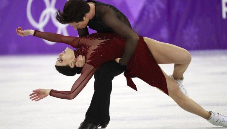 XXIII Ziemas olimpisko spēļu rezultāti daiļslidošanā deju pāriem (20.02.2018.)