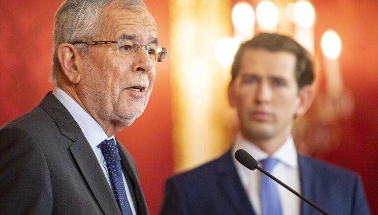 Austrijas pirmstermiņa vēlēšanas notiks septembra sākumā