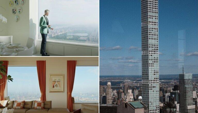 96. stāvs, 169 miljoni dolāru – pārdod visšikāko penthausu Ņujorkā
