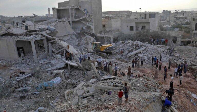 Международные юристы рекомендуют не финансировать восстановление Сирии
