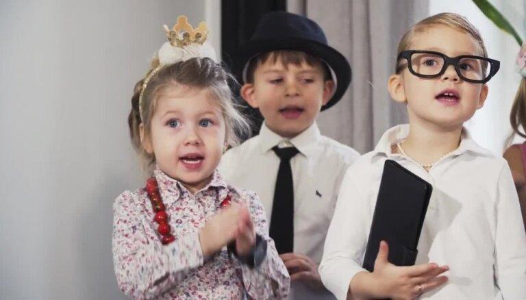 Video: Latviešu skaitāmpanti pārtop skanīgās dziesmās bērniem