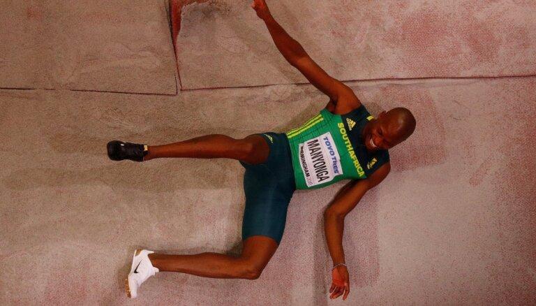 Olimpiskajam vicečempionam tāllēkšanā Manjongam piespriesta pagaidu diskvalifikācija
