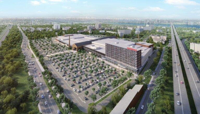 Foto: Apstiprina jaunā Rīgas tirdzniecības centra 'Akropole' dizainu