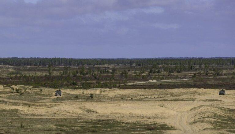 Ādažu poligona paplašināšanai AM plāno iegādāties 47 hektārus zemes