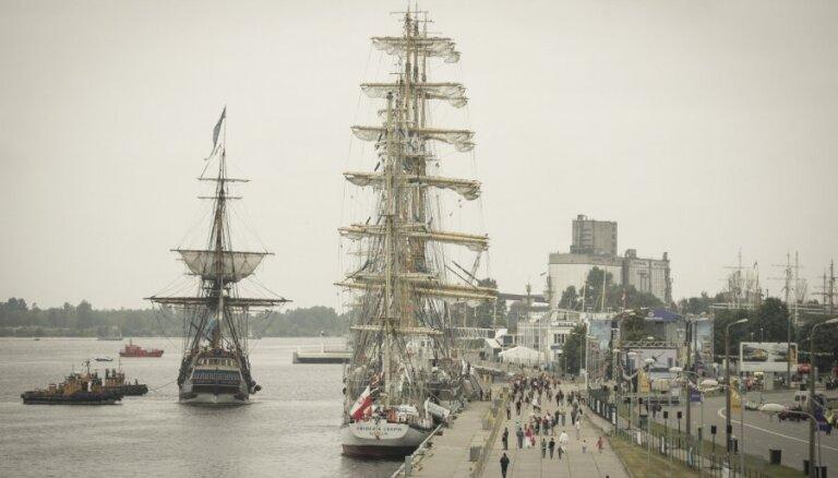 Президент Латвии посетил регату The Tall Ships Races