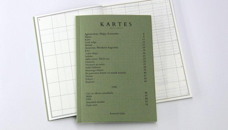 'Neputns' izdod Raimonda Ķirķa debijas dzejas krājumu 'Kartes'