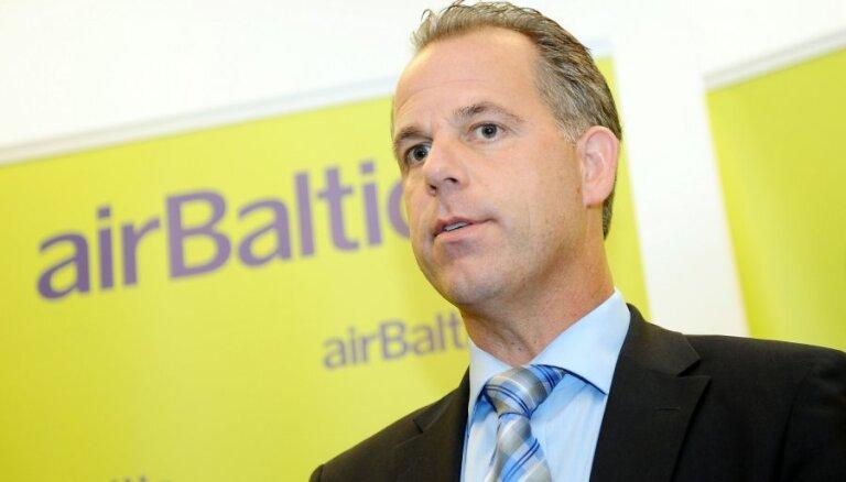Gausa ienākumi no 'airBaltic' pērn bija 1,16 miljoni eiro