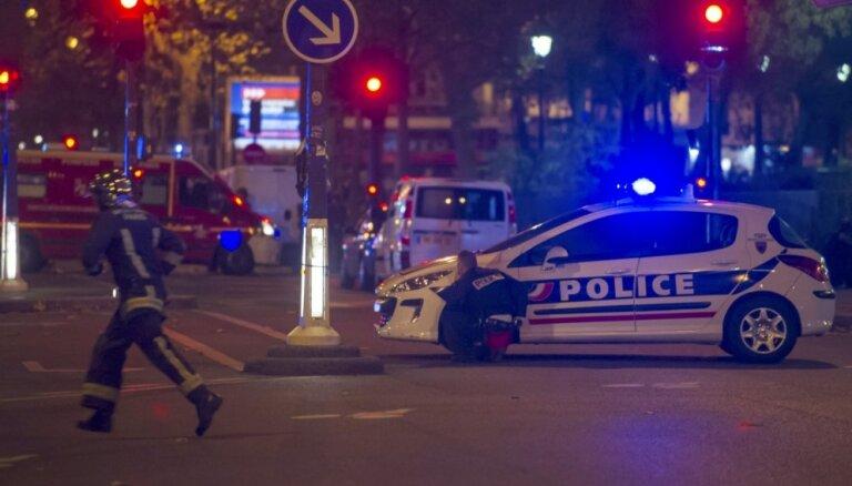 Beļģijā apcietināts aizdomās turamais Parīzes terorakta lietā