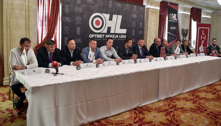 Vismaz trīs komandas sola cīnīties par Latvijas hokeja čempionāta zeltu