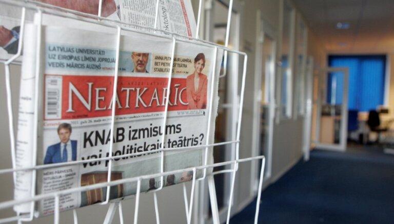 'Mediju nama' zaudējumi pērn sasniedza 952 000 eiro