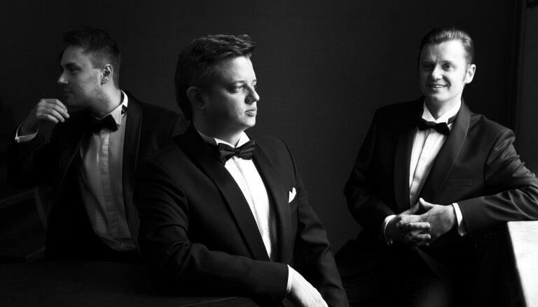 Rojā ar programmu 'Arrivederci Roma' uzstāsies 'Tenoru trio'