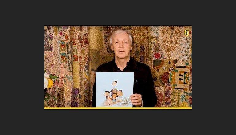 Для дедушек во всем мире: Пол Маккартни написал детскую книжку