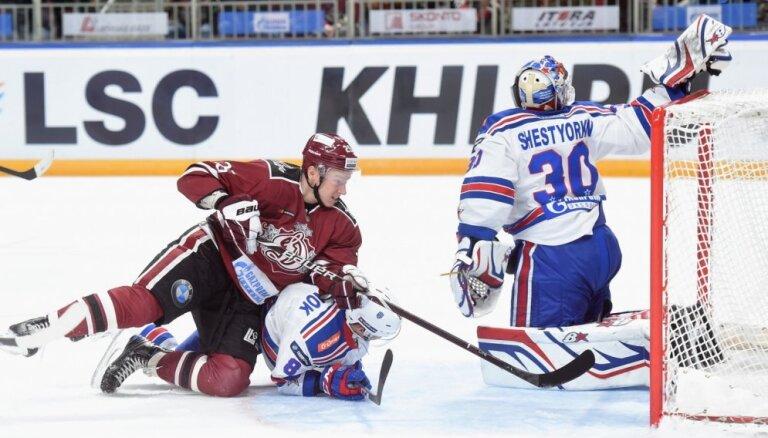 Судья КХЛ о незасчитанном голе Джериньша в матче со СКА: эпизод однозначный