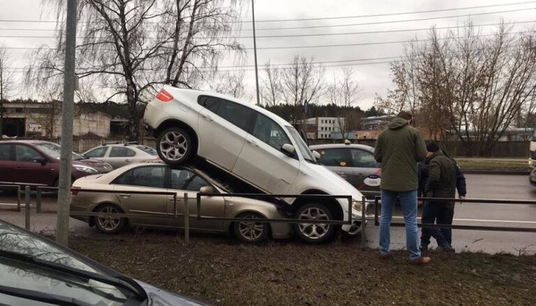 Полиция задержала автовора — профессионала, угнавшего в Плявниеках BMW