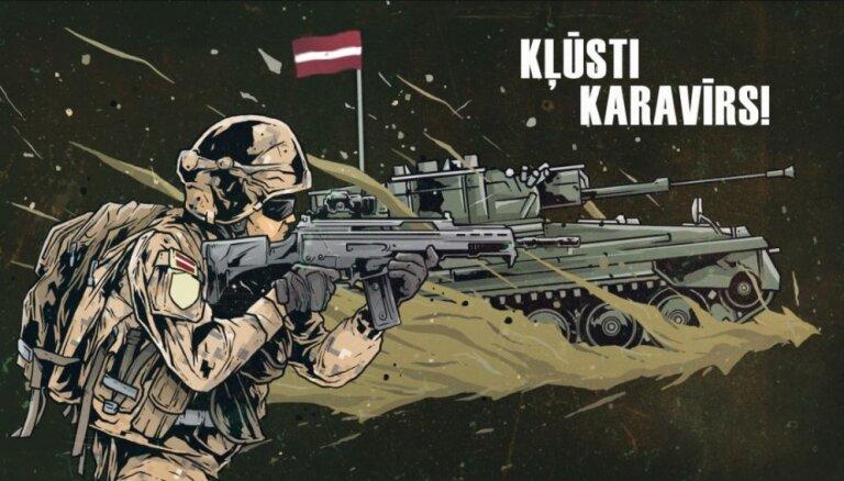 Rekrutēšanas centrs: Kļūsti karavīrs! Atlīdzība – sākot no 900 eiro