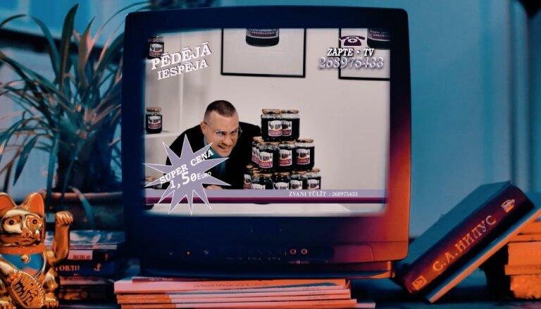 Noskaties! Ozols laiž klajā hita 'Zapte' videoklipu