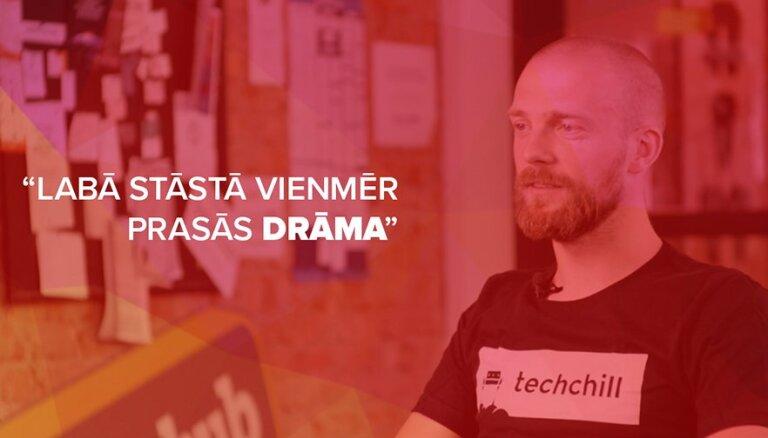 Ernests Štāls no 'TechChill' par tehnoloģijām un cilvēku tajās