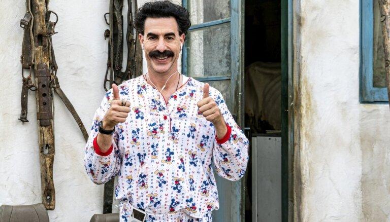 Borata filmai Ginesa rekords – 'Oskara' pretendente ar visgarāko nosaukumu