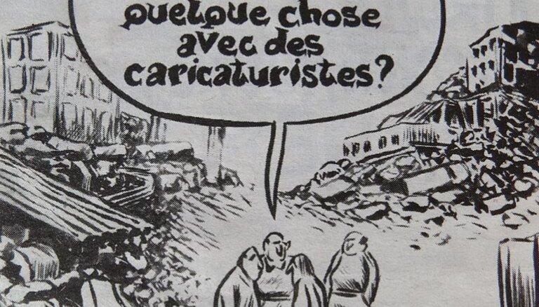 """Charlie Hebdo взялась за Донбасс: карикатура о """"скучном перемирии"""" в Донецке"""