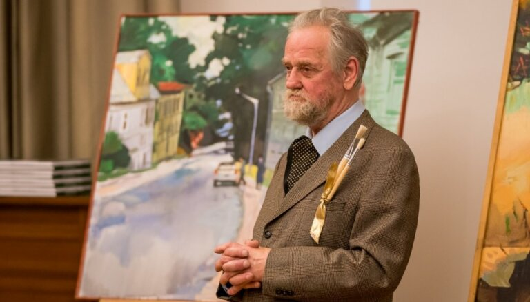 Balvu par mūža ieguldījumu Jūrmala piešķirs gleznotājam Andrejam Ģērmanim