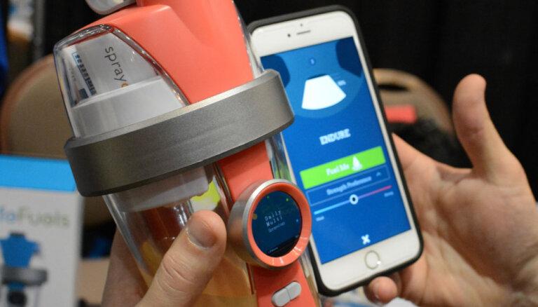 CES-2016: Bluetooth-бутылка с водой, которая подмешивает вещества и оснащена экраном