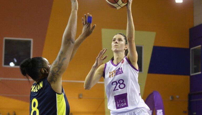 'TTT Rīga' basketbolistes gūst panākumu arī septītajā Eiropas Sieviešu līgas mačā