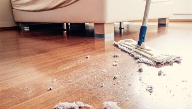10 tīrīšanas kļūdas, kas māju padara vēl netīrāku