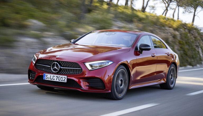 Lepnais 'Mercedes-Benz CLS' ieguvis 1,5 litru motoru