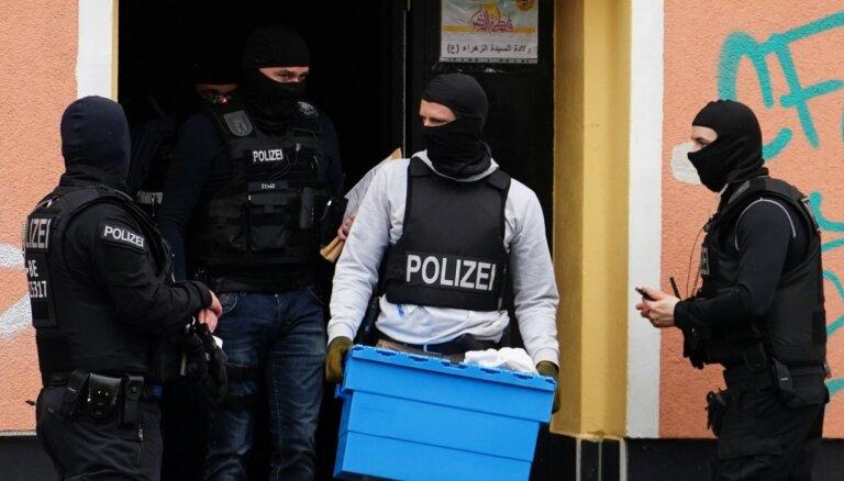 Vācija aizliedz Libānas 'Hezbollah' un rīko reidus mošejās