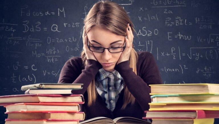 Skolēnu sniegums matemātikas eksāmenā šogad vājākais pēdējā desmitgadē