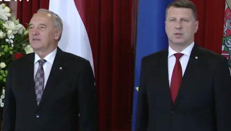Simboliskā Valsts prezidenta amata pārņemšanas ceremonija