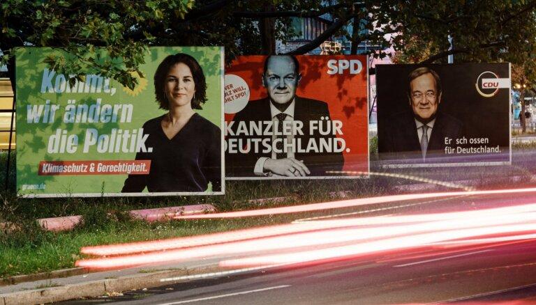 Vācijas Bundestāga vēlēšanas noslēdz Merkeles ēru