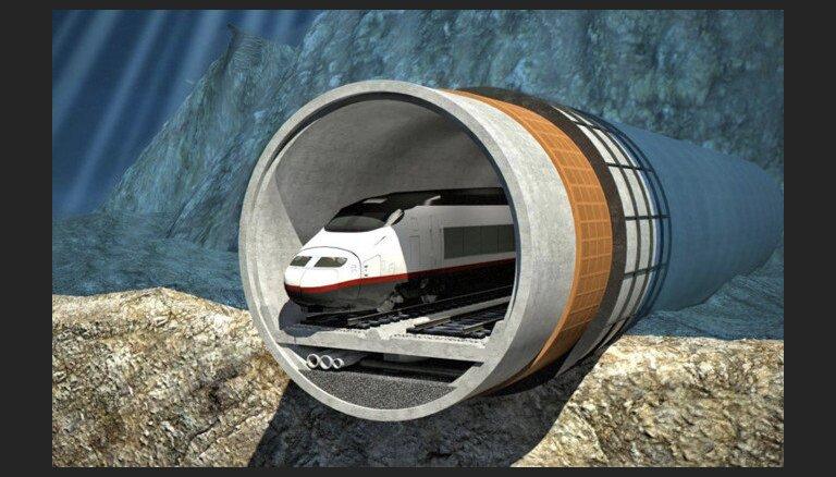Dubaijas būvniecības milzis investēs Tallinas - Helsinku tuneļa izveidē