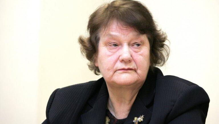 Mūžībā aizgājusi bijusī Augstākās Padomes un vairāku Saeimas sasaukumu deputāte Anna Seile
