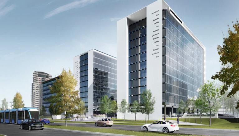 В Риге на улице Сканстес начнется строительство нового офисного комплекса