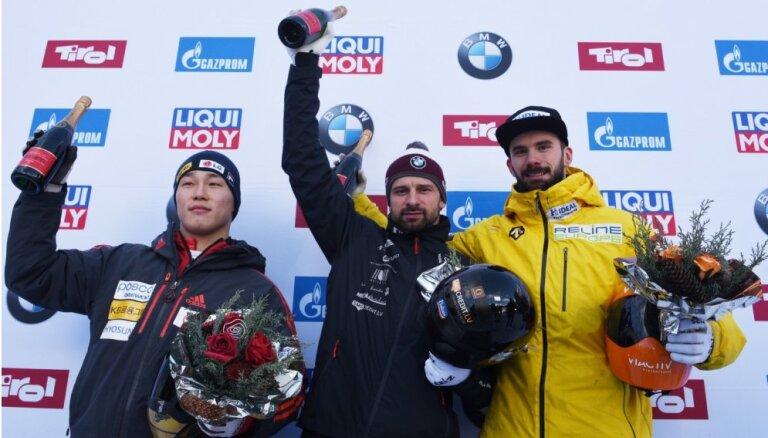 Martins Dukurs kļūst par desmitkārtēju Eiropas čempionu