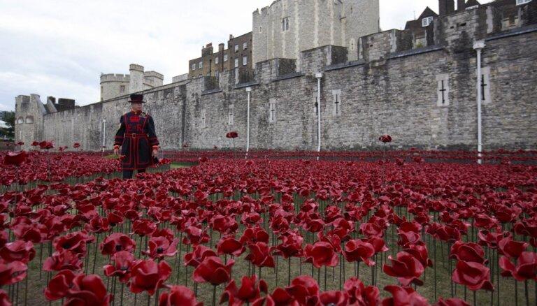 Лондонский Тауэр утопили в крови 888246 жертв первой мировой войны
